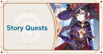 Genshin Impact - Story Quests Banner