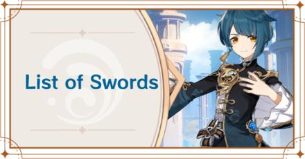 Genshin Impact - List of Swords