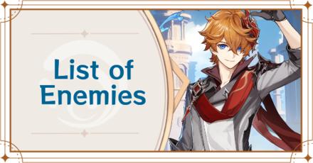 Genshin Impact - List of Enemies