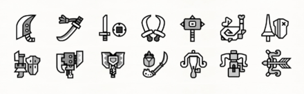 14 Weapon Types