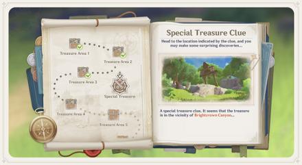 Lost Riches - Special Treasure Clue