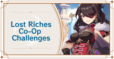 Lost Riches - Co-Op Banner