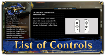 List of controls.png