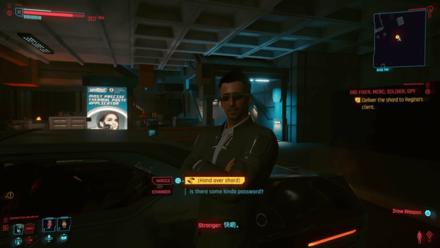 Cyberpunk 2077 - Deliver the shard to Regina