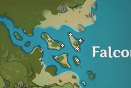 Iron Coin Map - Falcon Coast
