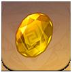 Genshin - Изображение драгоценного камня топаза Притхива