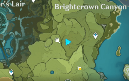 Brightcrown Canyon Location