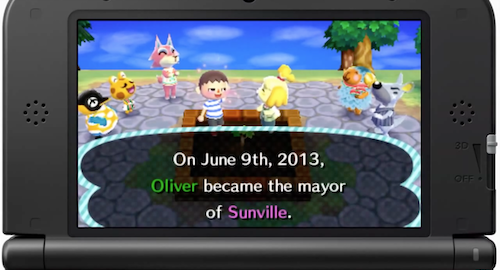 Town Anniversary - New Leaf