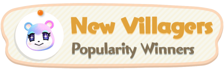 ACNH - New Villagers Popularity Winners