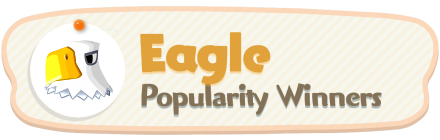 ACNH - Eagle Popularity Winners