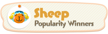 ACNH - Sheep Popularity Winners