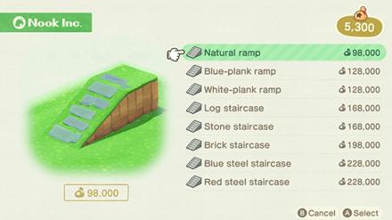 ACNH - Build a Slope