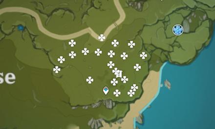 Genshin - Lost Riches - Treasure Area Map 6 - Windrise (1).png