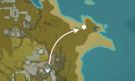 Genshin - Lost Riches - Special Treasure 2 Map