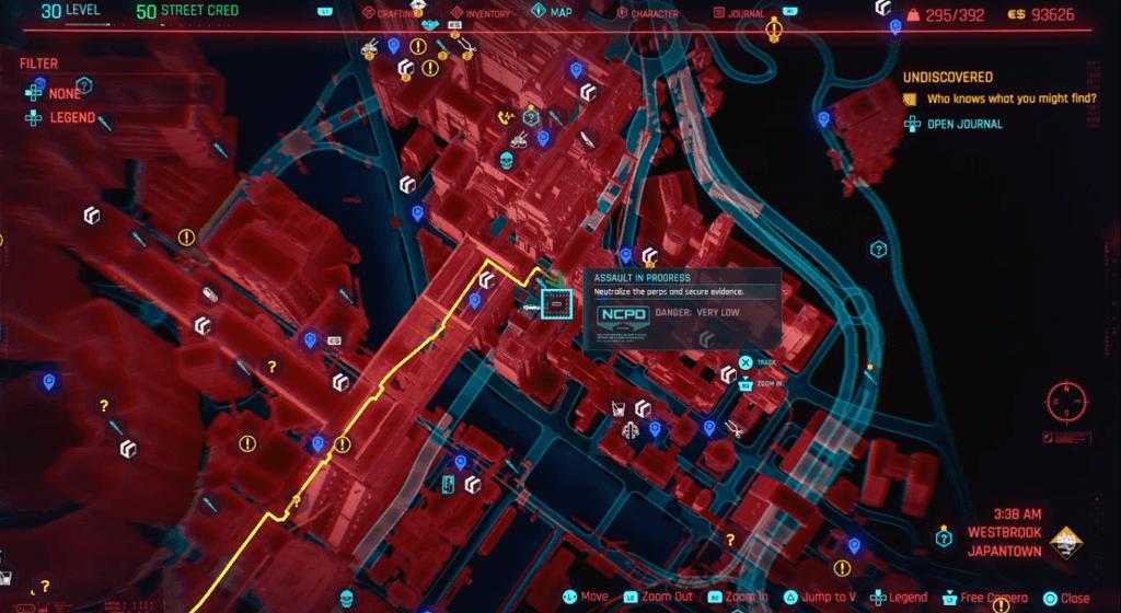 Cyberpunk 2077 Perk Shard Location 01.png