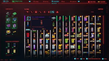 Cyberpunk 2077 Duplicating Items Top.png