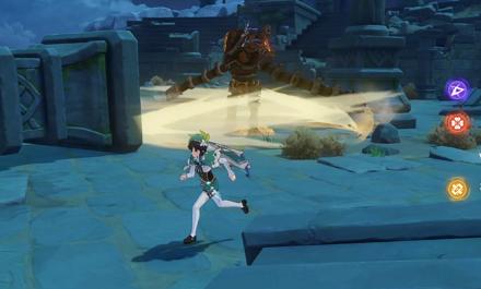 Ruin Guard - Spin Attack