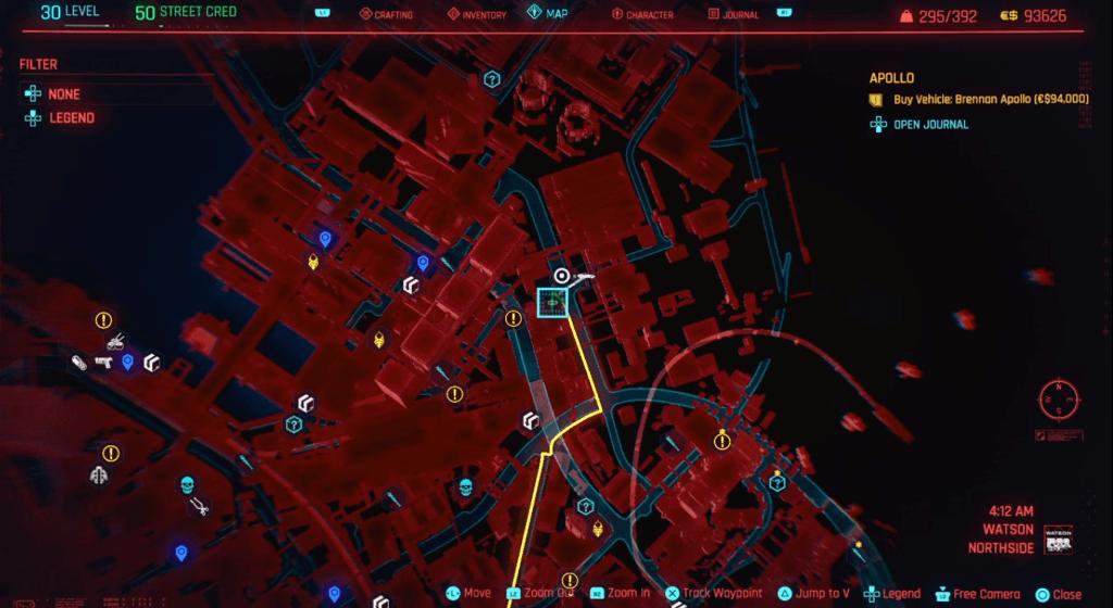 Cyberpunk 2077 Perk Shard Location 02.png