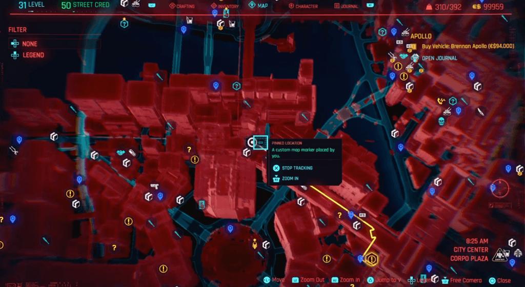 Cyberpunk 2077 Perk Shard Location 06.png