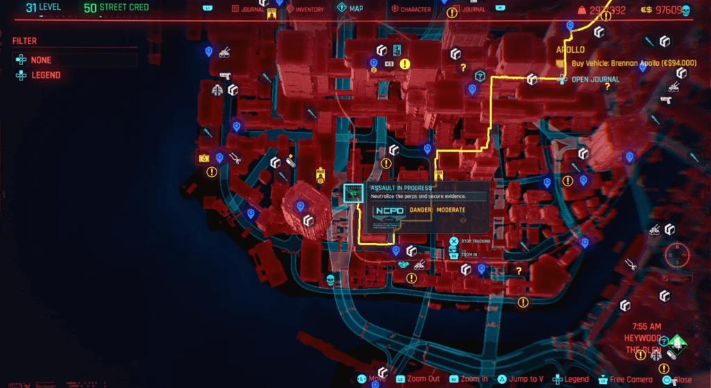 Cyberpunk 2077 Perk Shard Location 05A.png