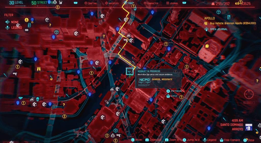 Cyberpunk 2077 Perk Shard Location 03.png