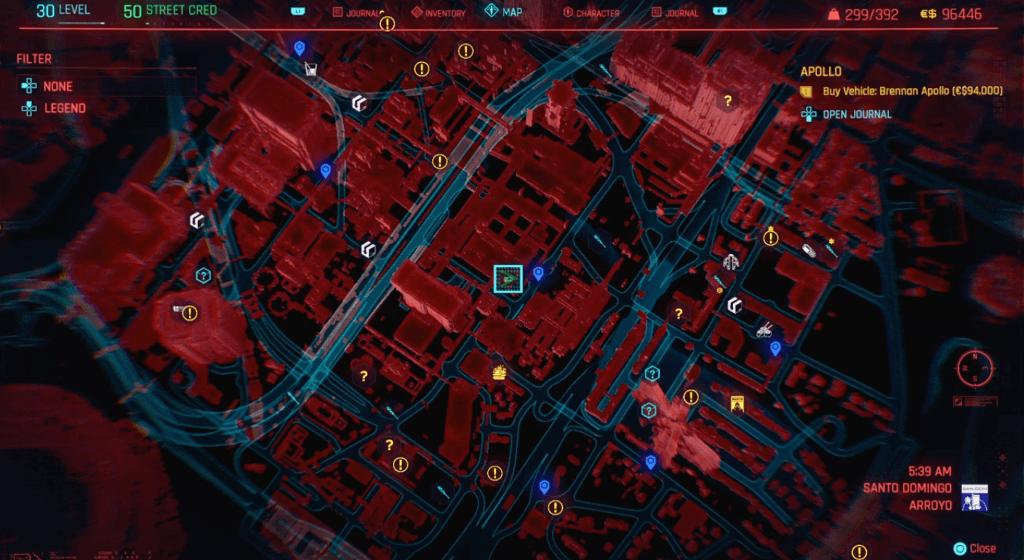 Cyberpunk 2077 Perk Shard Location 04A.png