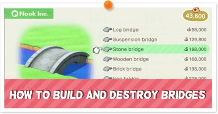 How to Build and Destroy Bridges