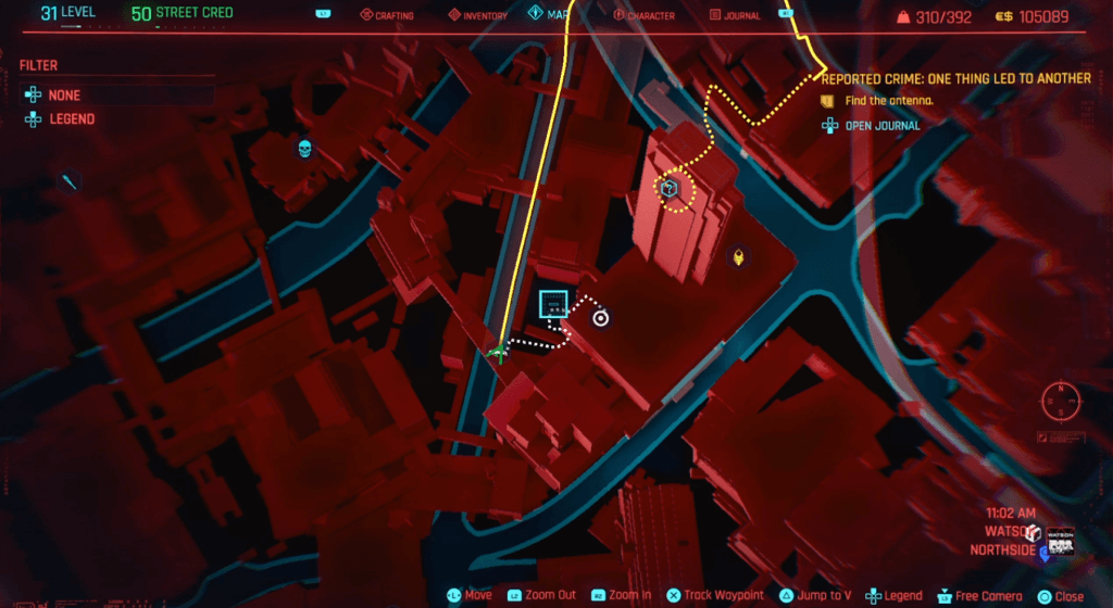 Cyberpunk 2077 Skill Shard Location 01.png