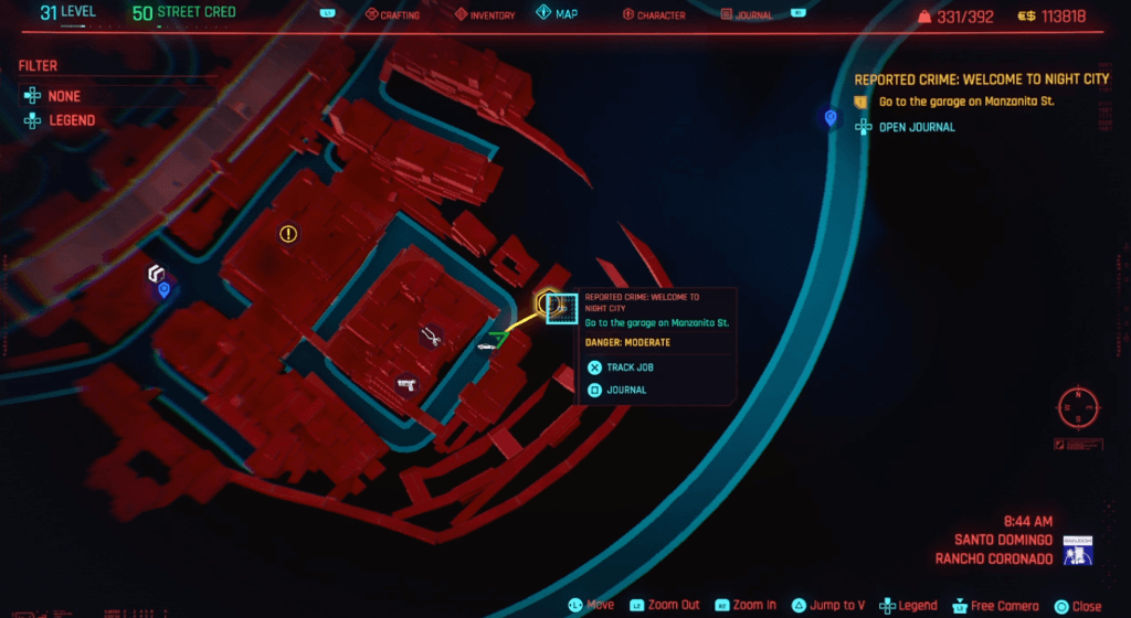 Cyberpunk 2077 Perk Shard Location 07.png