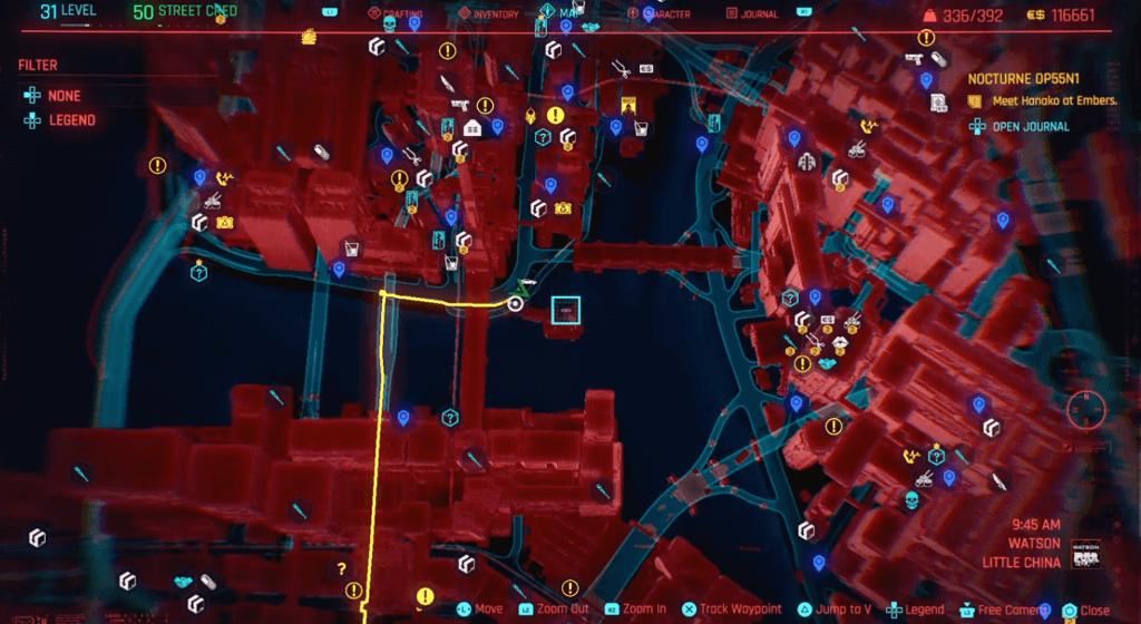 Cyberpunk 2077 Skill Shard Location 04.png