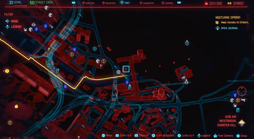 Cyberpunk 2077 Skill Shard Location 06.png