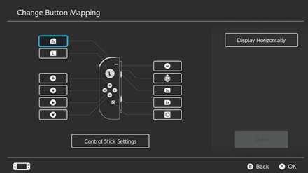 Change Button Mapping