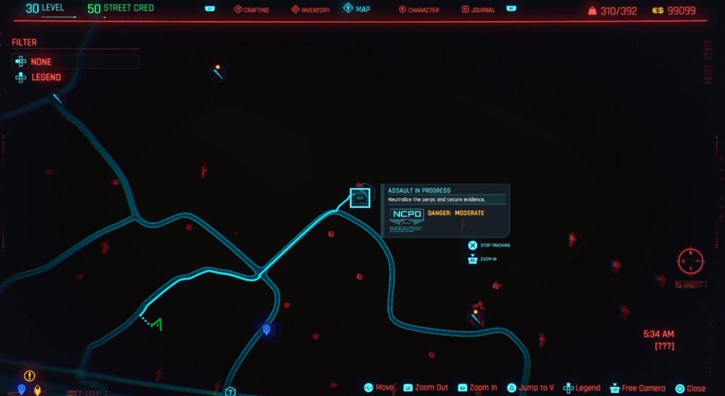 Cyberpunk 2077 Skill Shard Location 10.png