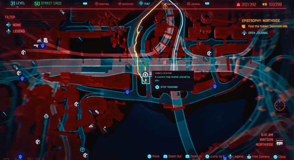 Cyberpunk 2077 Skill Shard Location 12.png