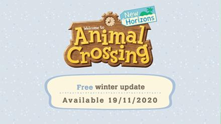 ACNH - Winter Update Release Date