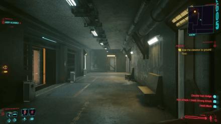 Cyberpunk 2077 - Leave the apartment