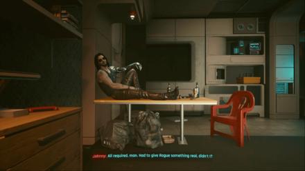 Cyberpunk 2077 - Talk to Johnny