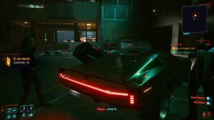 Cyberpunk 2077 - Meet Rogue at Afterlife