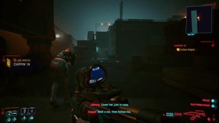 Cyberpunk 2077 - Follow Rogue