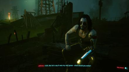 Cyberpunk 2077 - Drive to the oil fields