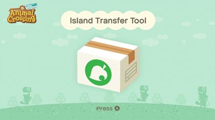 ACNH - Island Transfer Tool Title Screen