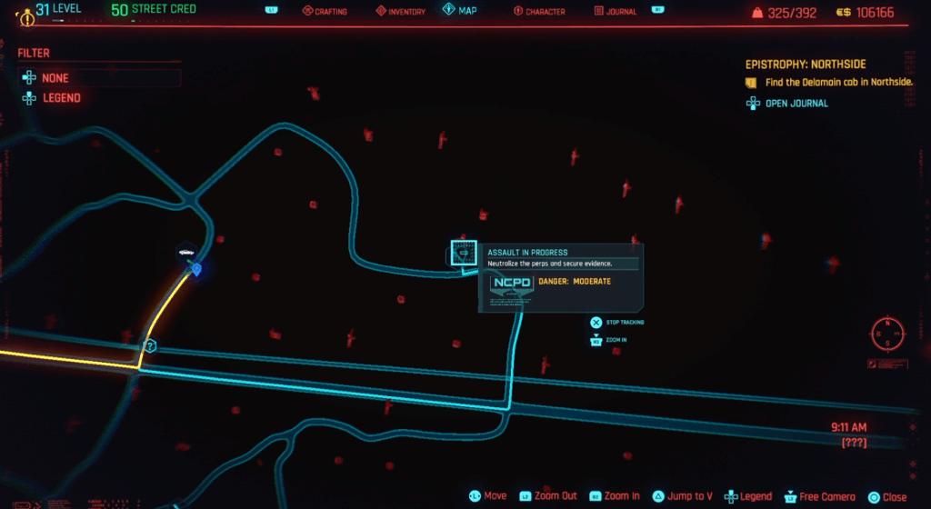 Cyberpunk 2077 Skill Shard Location 14.png