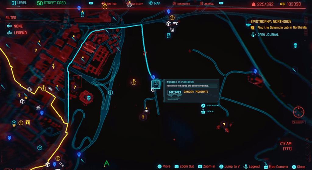 Cyberpunk 2077 Skill Shard Location 15.png