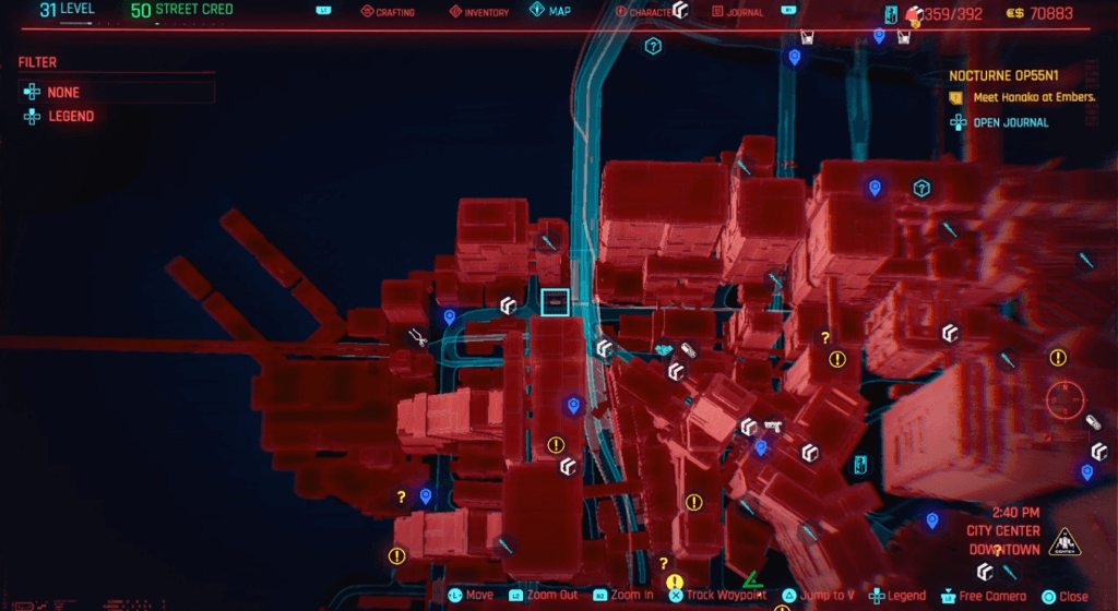 Cyberpunk 2077 Skill Shard Location 16.png