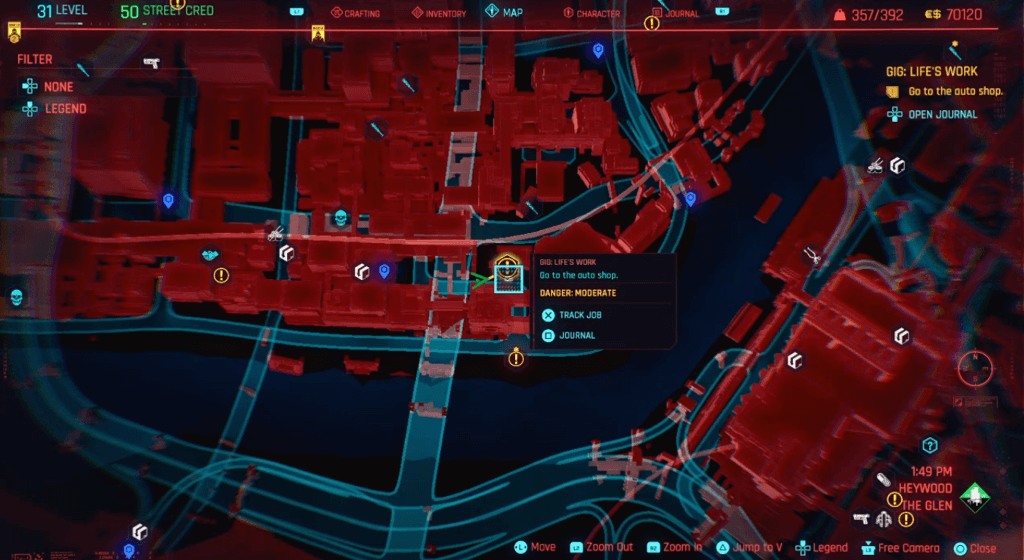 Cyberpunk 2077 Skill Shard Location 17.png