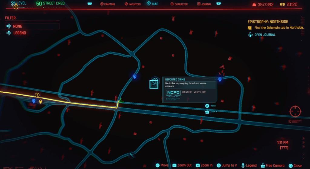 Cyberpunk 2077 Skill Shard Location 18.png