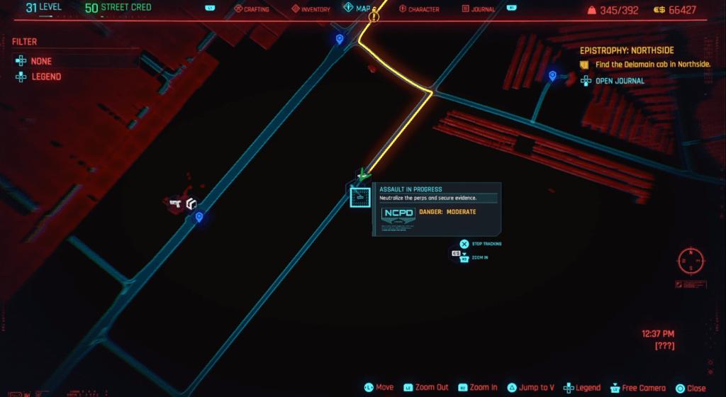 Cyberpunk 2077 Skill Shard Location 19.png
