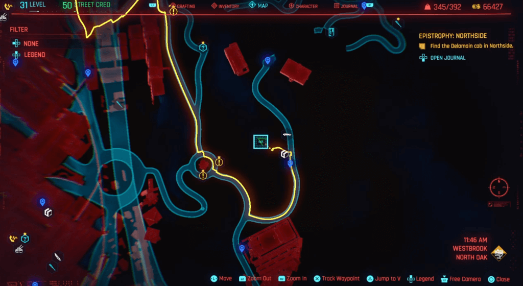 Cyberpunk 2077 Skill Shard Location 21.png