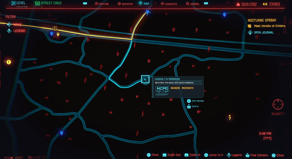 Cyberpunk 2077 Skill Shard Location 23.png