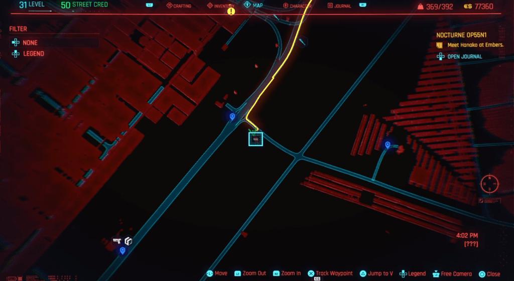 Cyberpunk 2077 Skill Shard Location 24.png